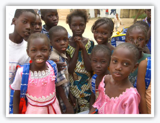 Kids in Senegal